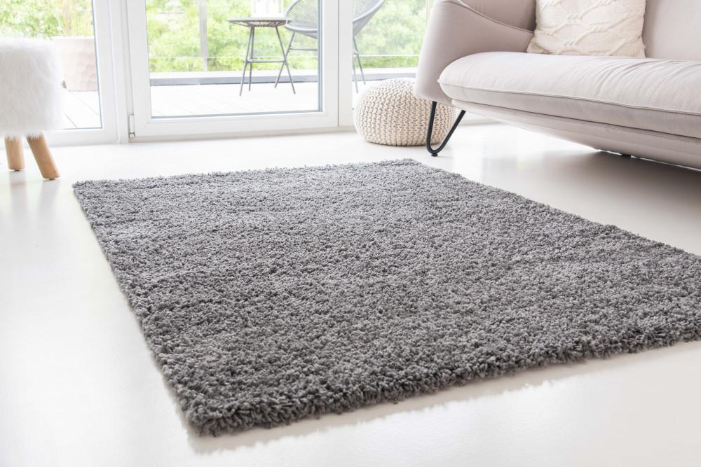 Design Shaggy dark gray (szürke) szőnyeg 60x110cm