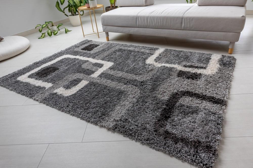 Design Shaggy 65 gray (szürke) szőnyeg 120x170cm