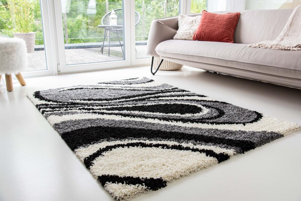 Design Shaggy 69 gray (szürke) szőnyeg 200x290cm