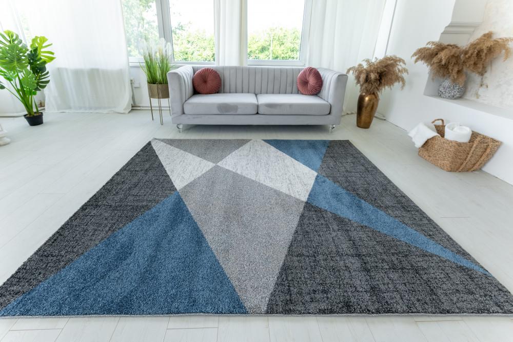 Elephant Gira Carpet 2290 (blue-gray) szőnyeg 60x110cm Kék-Szürke