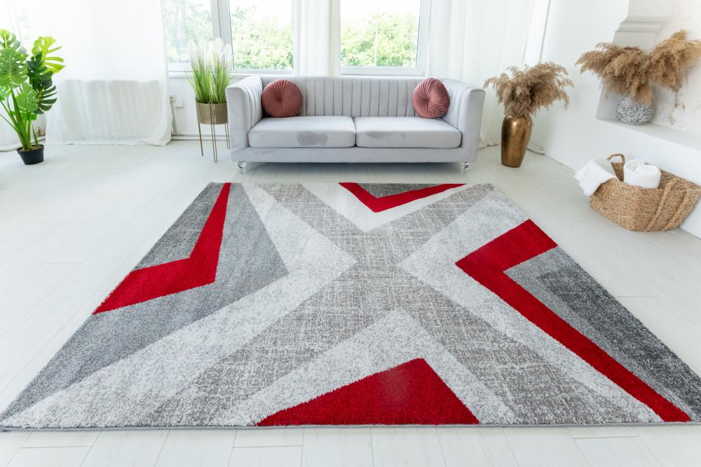 Elephant Gira Carpet 3877 (red-mink) futószőnyeg 60x220cm Piros-Mink