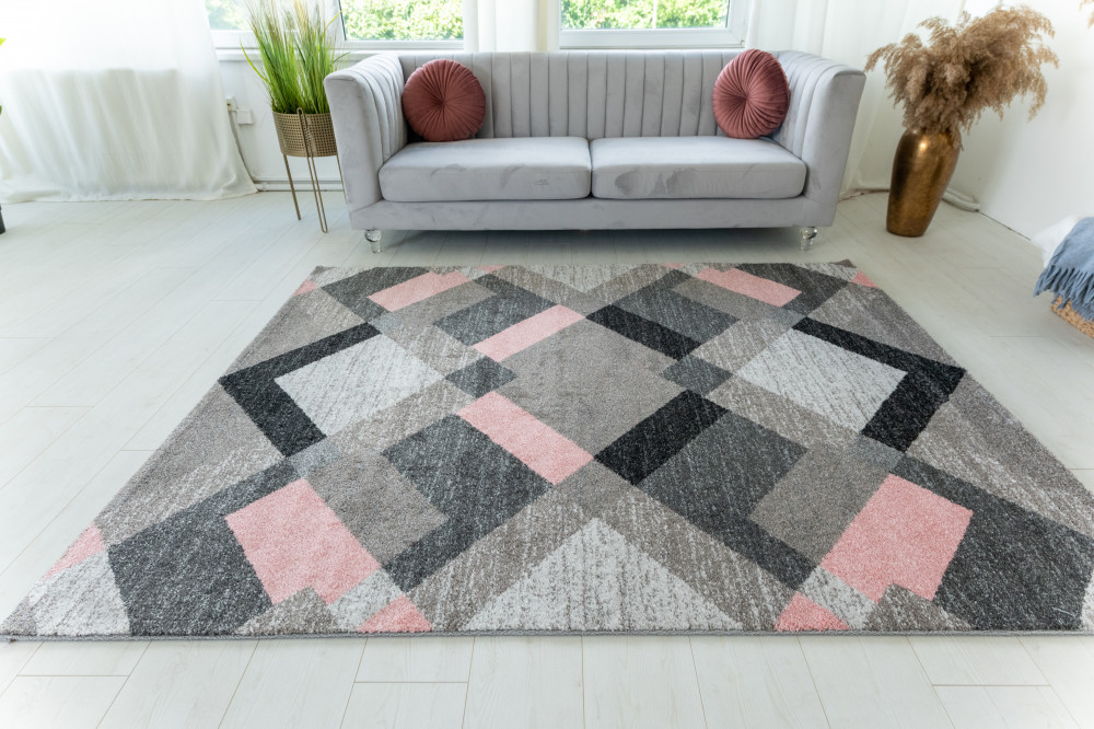 Elephant Gira Carpet 3880 (pink-mink) szőnyeg 80x150cm Pink-Mink
