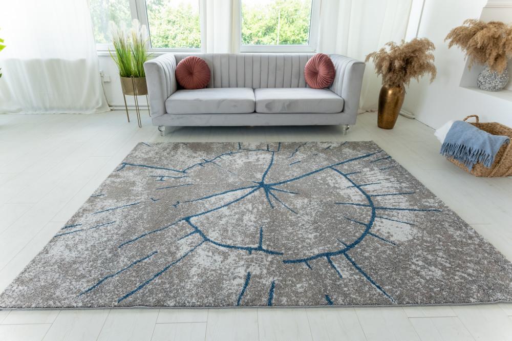 Elephant Gira Carpet 3885 (blue-mink) futószőnyeg 60x220cm Kék-Mink