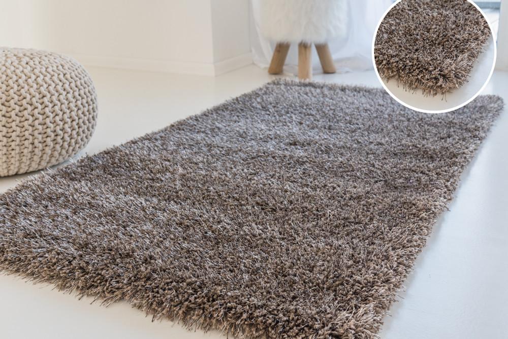 Kairó shaggy szőnyeg light brown (világosbarna) 60x220cm