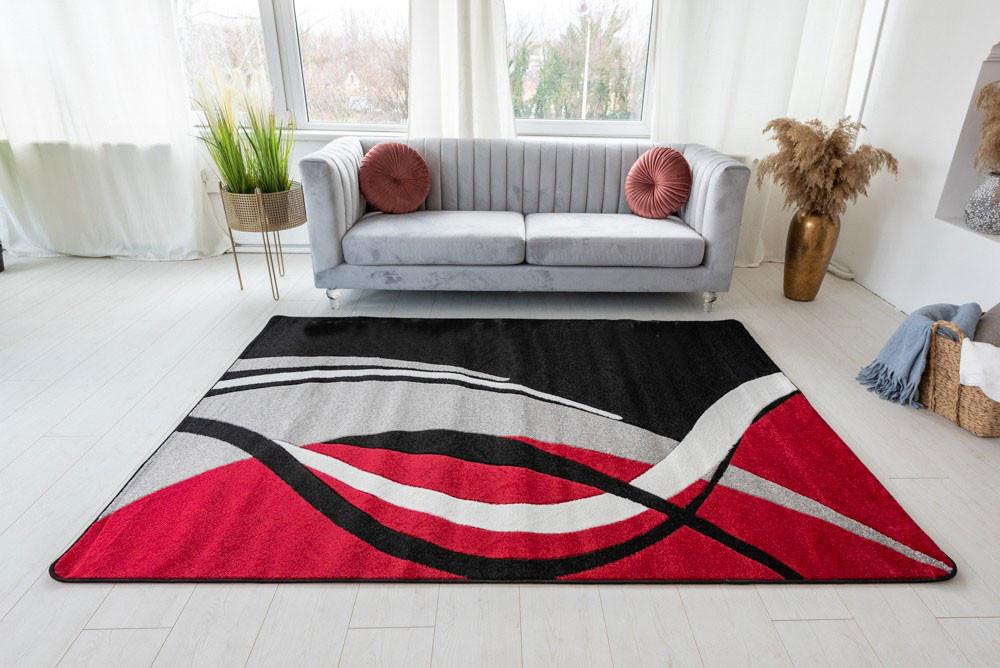London 61 black (fekete) szőnyeg 60x220cm
