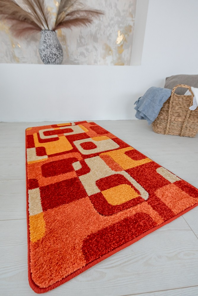 London 96 orange (narancs) szőnyeg 60x220cm