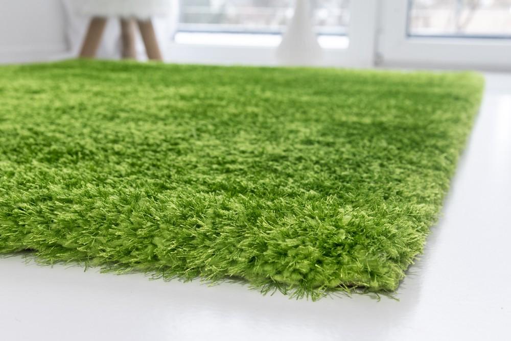Luxury Shaggy green (zöld) 60x220cm szőnyeg