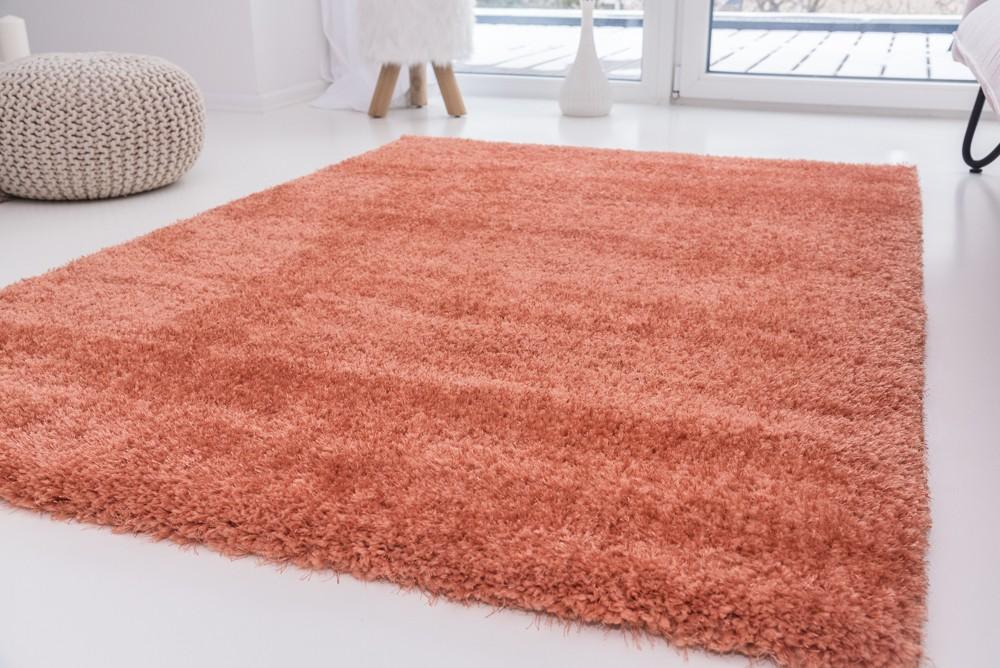 Luxury Shaggy korall 200x290cm szőnyeg