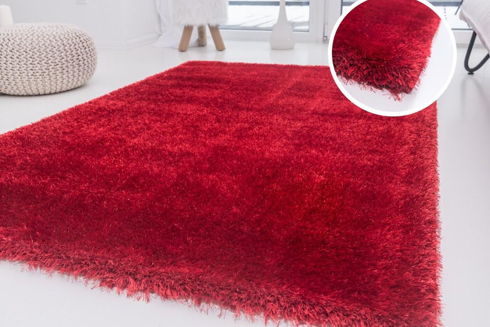 Luxury Shaggy red (piros) 200x290cm szőnyeg