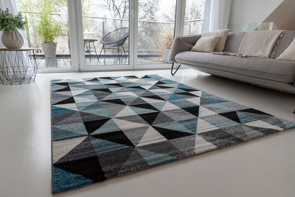 Elegance Super Soft 1001 blue-gray (kék-szürke) szőnyeg 120x170cm