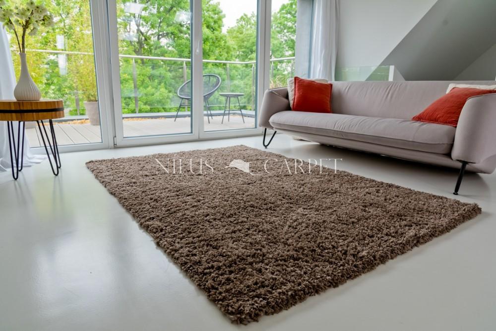 Manhattan Shaggy brown (barna) szőnyeg 60x110cm