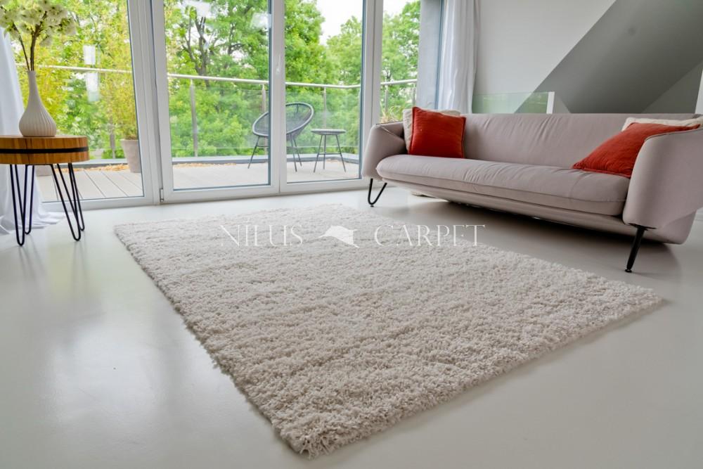 Manhattan Shaggy white (krém) szőnyeg 80x150cm