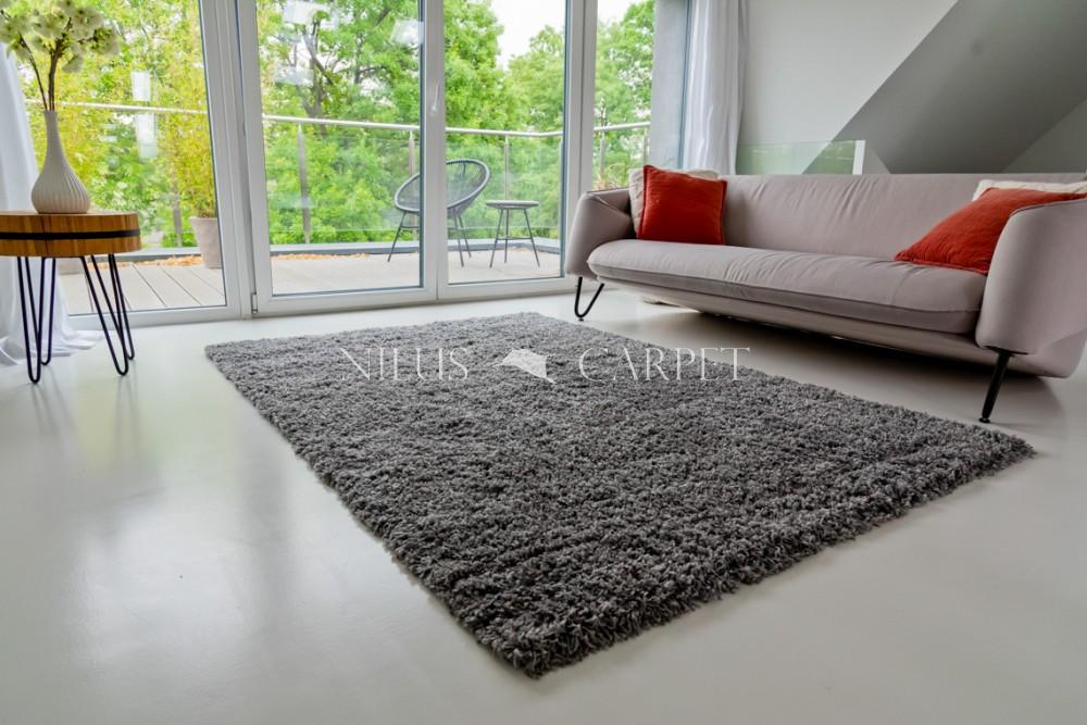 Manhattan Shaggy dark gray (szürke) szőnyeg 60x220cm