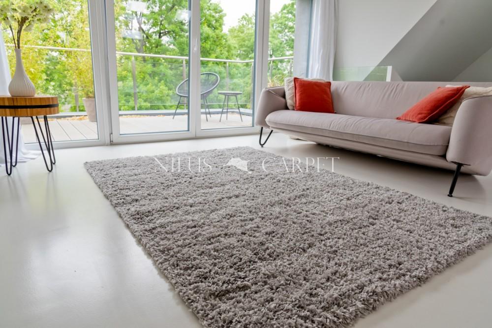 Manhattan Shaggy light gray (világosszürke) szőnyeg 60x220cm