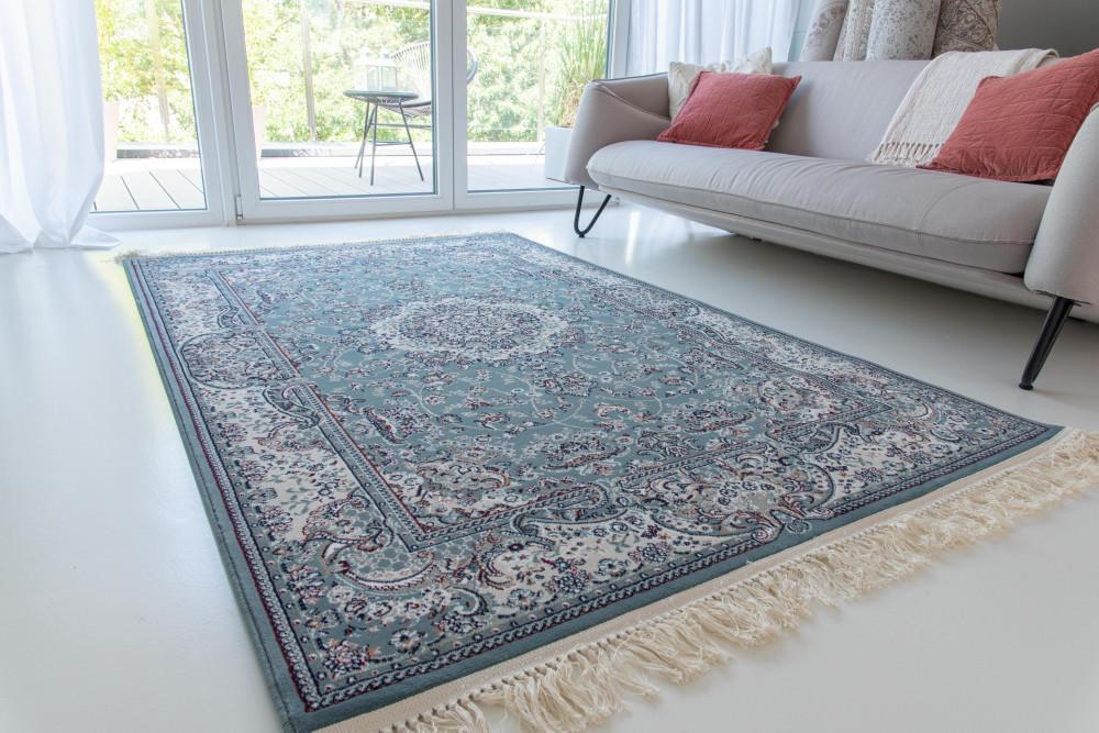 Million 04 blue (kék)Perzsa szőnyeg 150x230cm