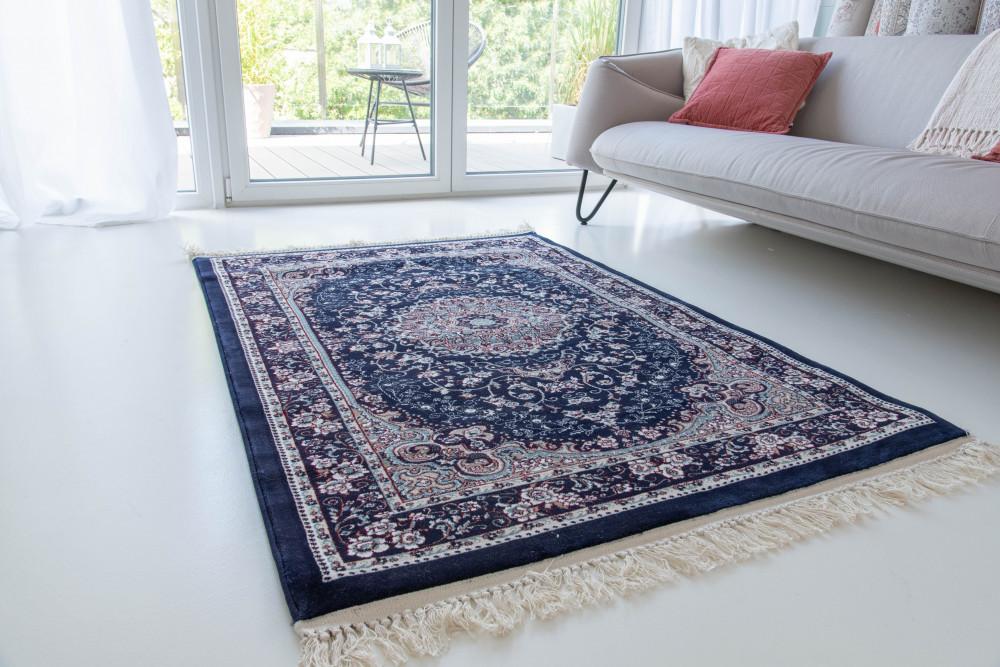 Million 04 dark blue (sötétkék)Perzsa szőnyeg 150x230cm