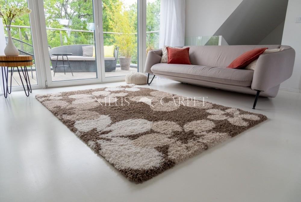 Manhattan Shaggy 473 brown (barna) szőnyeg 80x250cm
