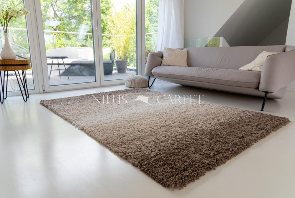 Manhattan Shaggy 480 beige-brown (bézs-barna) szőnyeg 200x290cm