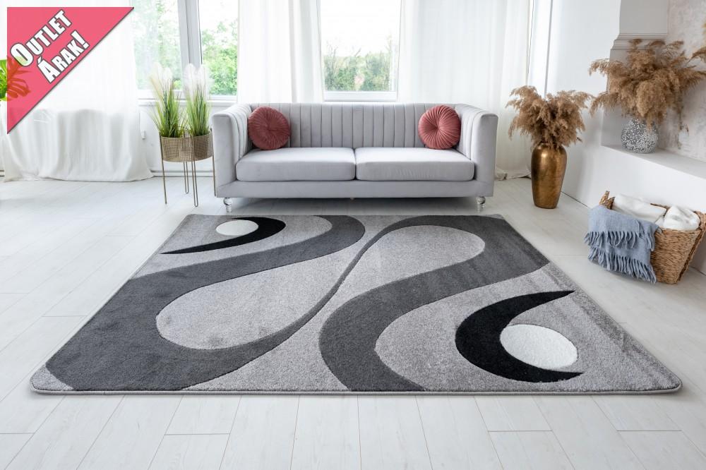 Margaret 2331 gray (szürke) szőnyeg 60x220cm