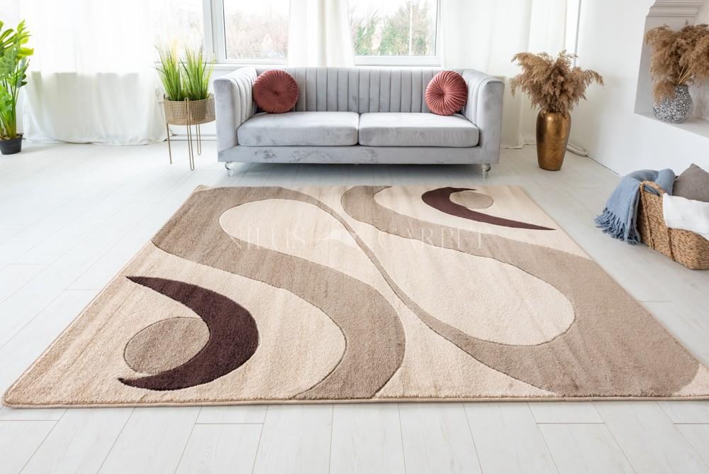 Margaret 2331 karamell szőnyeg 60x220cm