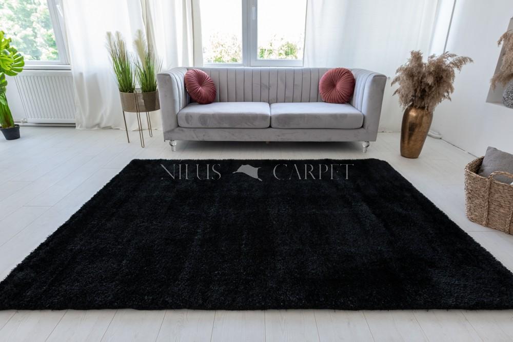 Pure Luxury Mamba Black (fekete) shaggy szőnyeg 200x280cm