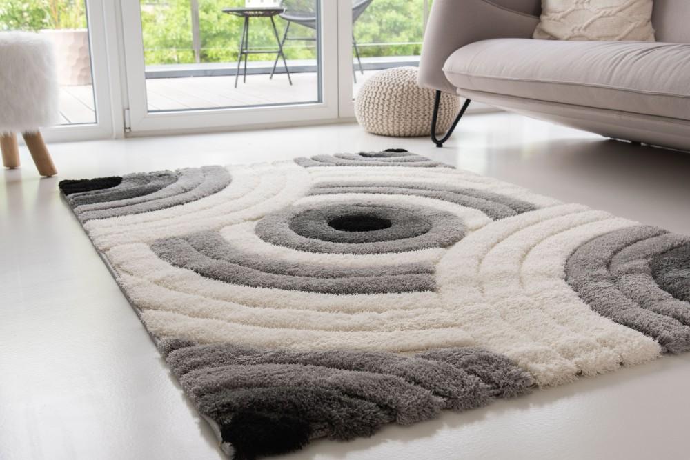 Puder Art 5489 gray (szürke fehér)szőnyeg 200x290cm