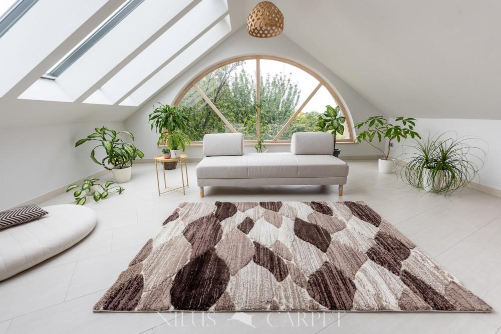 Puder Art 8842 beige (bézs-krém) szőnyeg 150x230cm