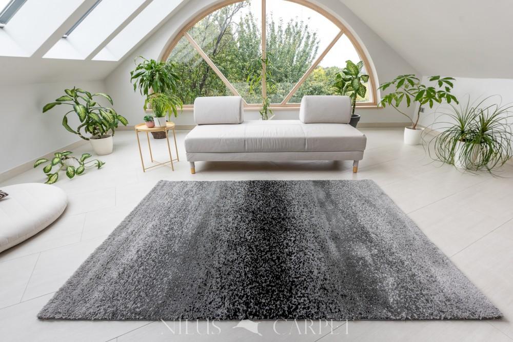 Puder Art 1724 D. Gray (szürke) szőnyeg 80x150cm
