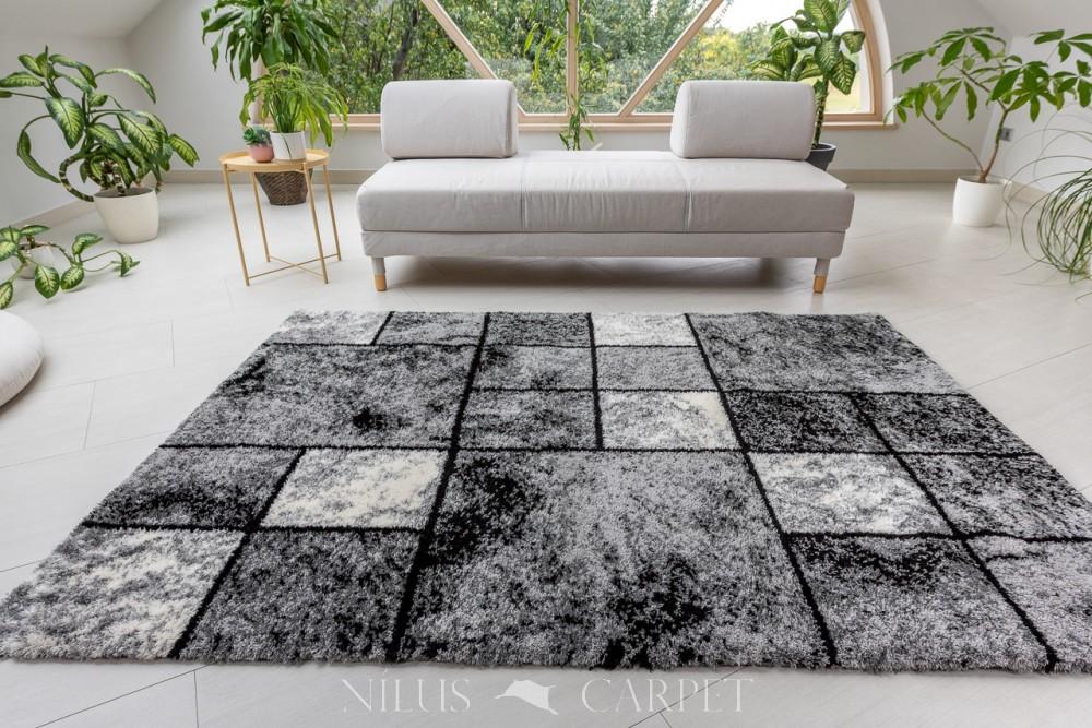 Puder Art 3320 Gray  (szürke) szőnyeg 60x110cm