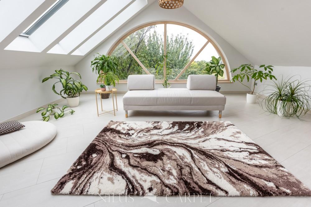 Puder Art 6839 beige cream szőnyeg 200x290cm