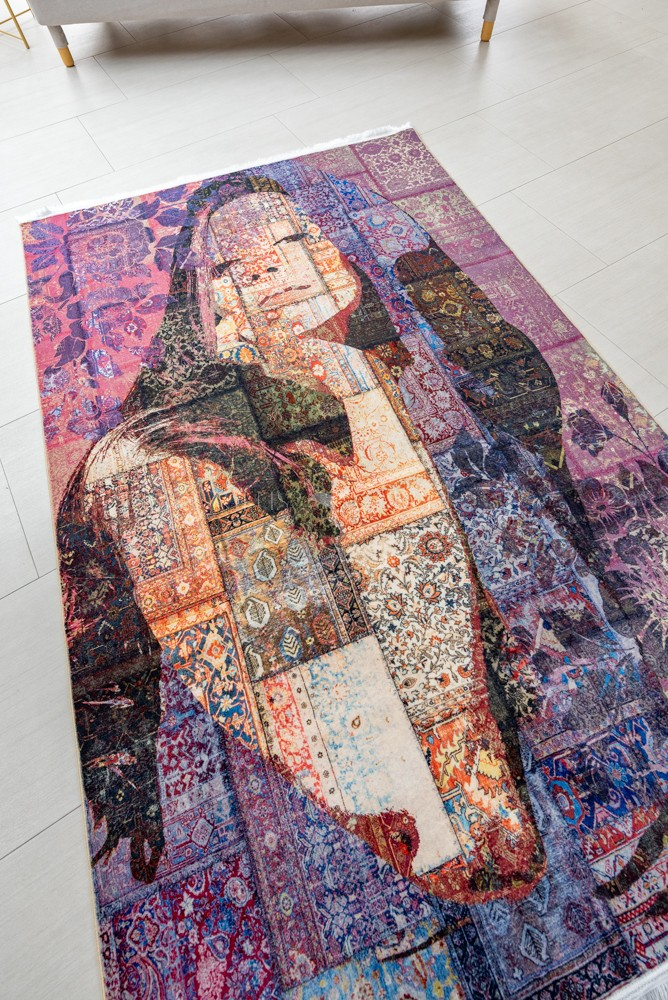 Exkluzív Colaris Portre Multicolour szőnyeg 100x200cm