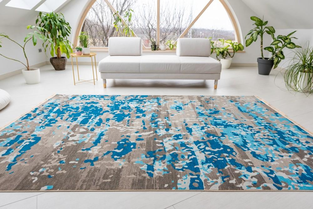 Exkluzív Colaris Blue Gray (Kék szürke) szőnyeg 100x200cm