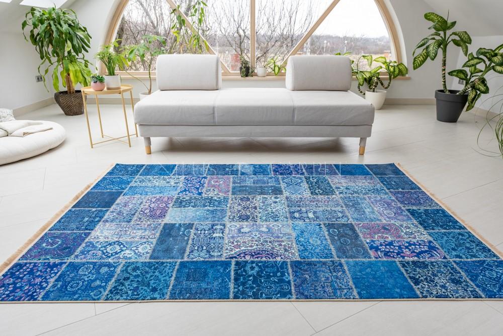 Exkluzív Perzsa Art Modern 100511 kék 150x225cm