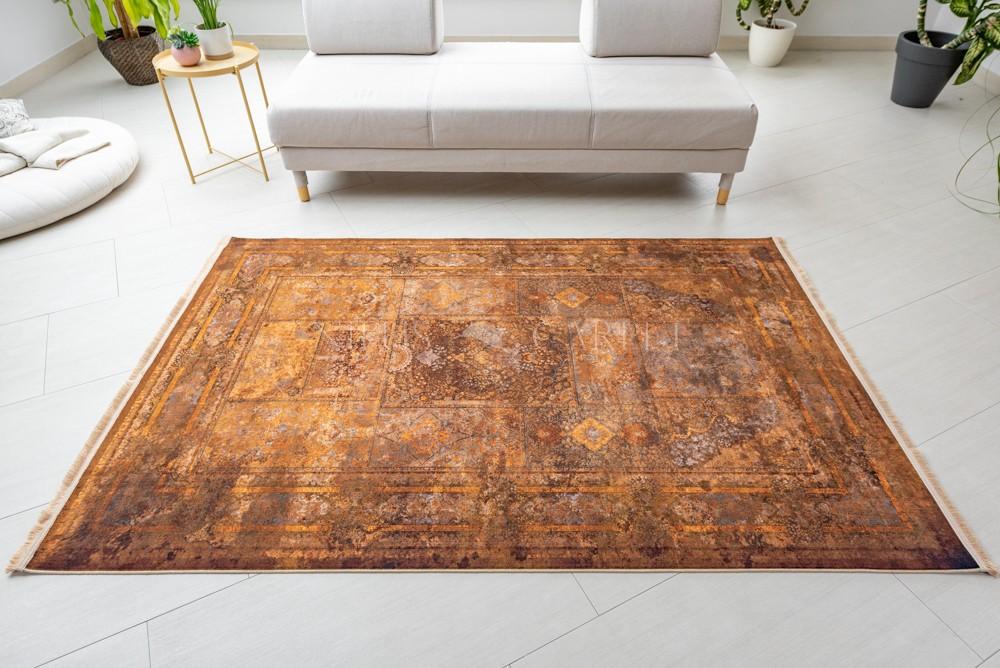 Exkluzív Colaris Corten Terra (Rozsdabarna) szőnyeg 150x225cm