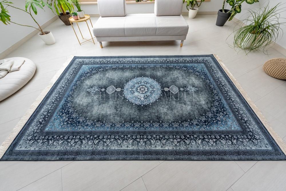 Exkluzív Perzsa Art Mandalay Gray-blue (szürke-kék) szőnyeg 150x225cm