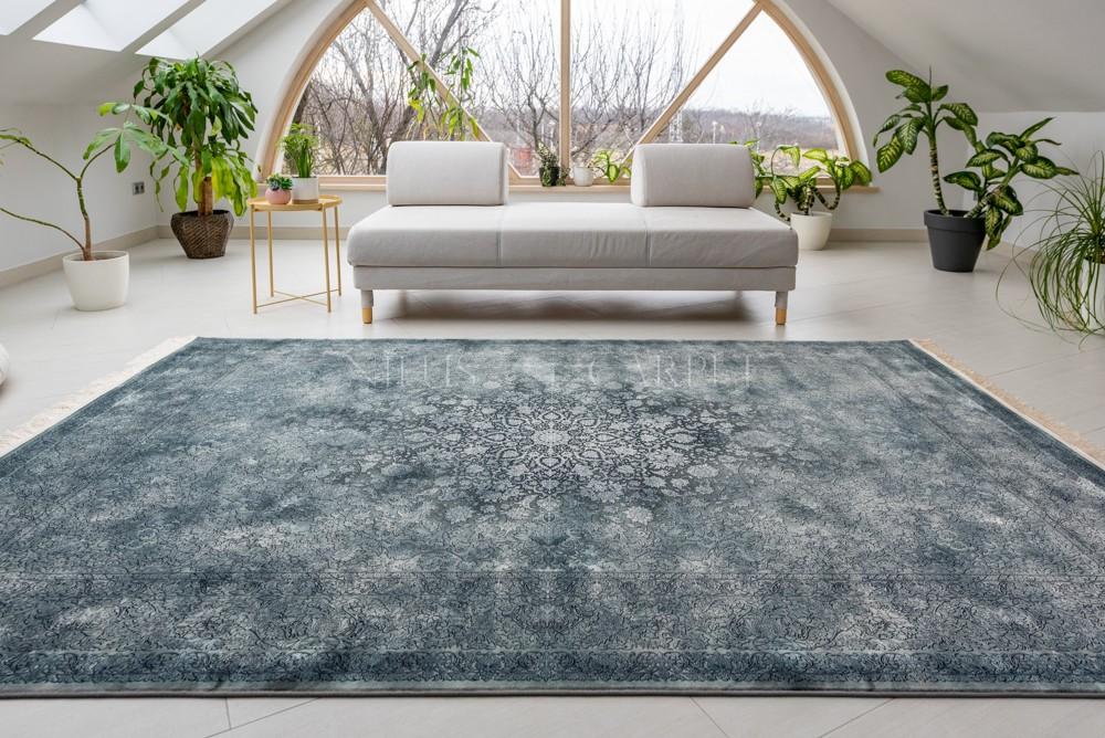 Exkluzív Perzsa Art Kashmir Gray (szürke) szőnyeg 150x225cm