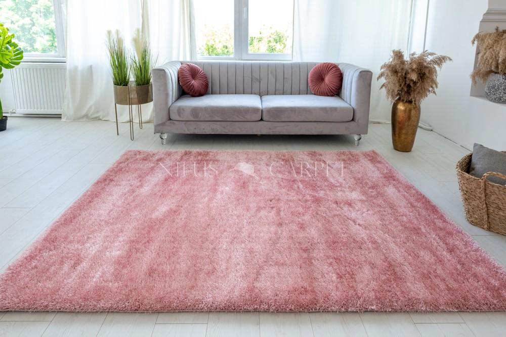 Pure Luxury Puder Pink shaggy szőnyeg 200x280cm