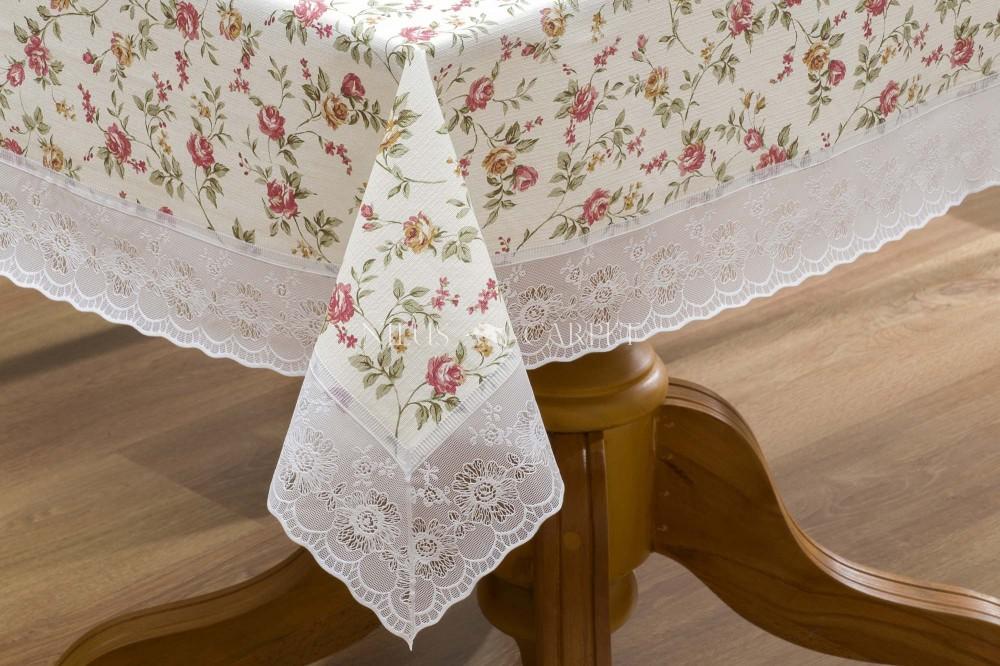 Ariana rózsakert lemosható asztalterítő 122x152cm