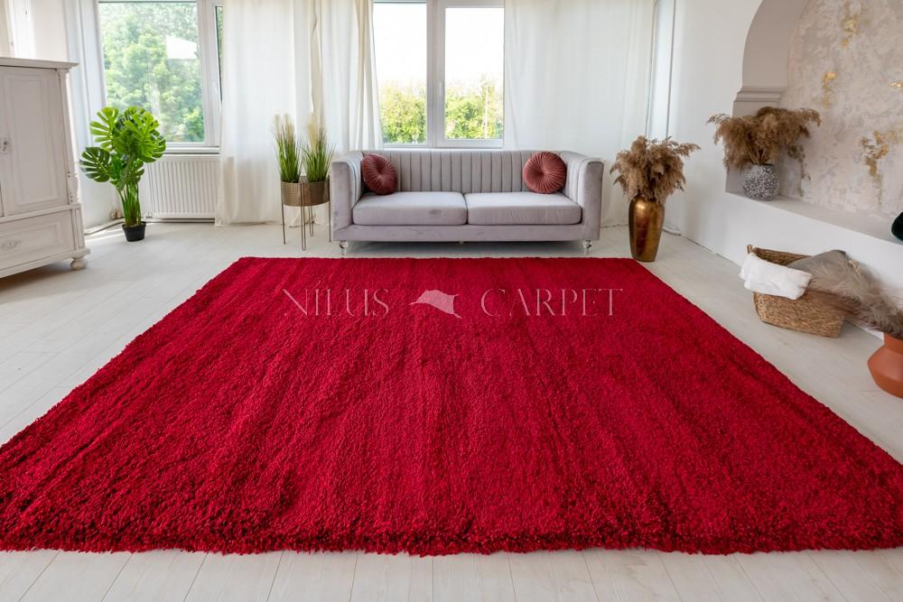 Super vastag 5cm Suba piros 200x290cm