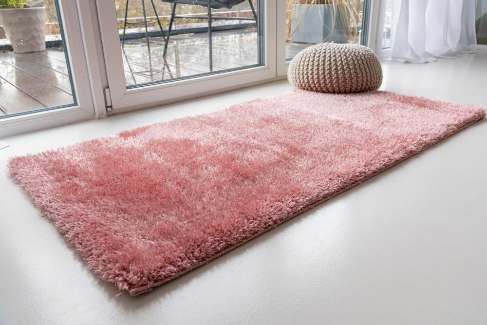 Super puder pink (rózsaszín) shaggy szőnyeg 200x280cm