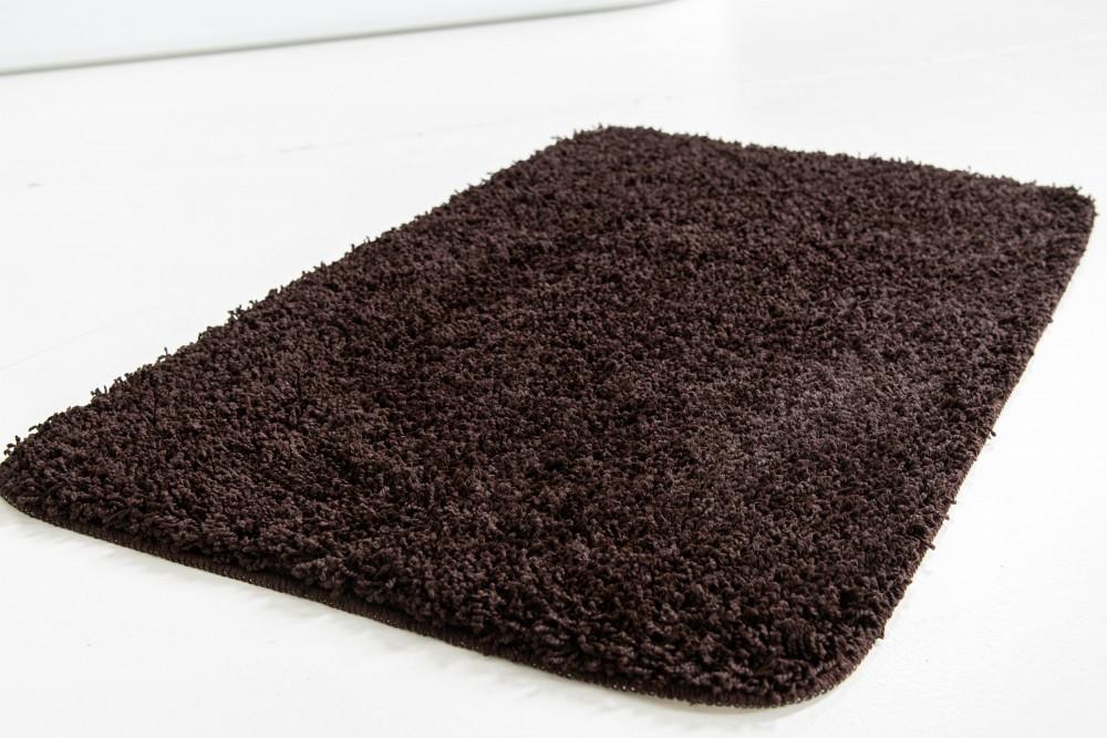 Shaggy soft brown (csokibarna) szőnyeg 50x80cm