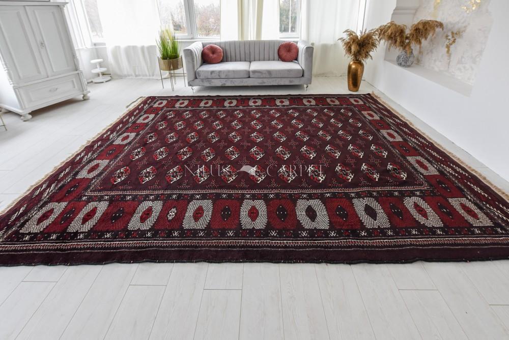 Kézi csomózású perzsa szőnyeg Türkmen 300x400cm
